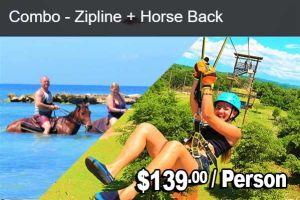 ZIPLINE & Horse Back