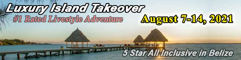 Fantasies Island Luxury Takeover May 30 - June 6 2020
